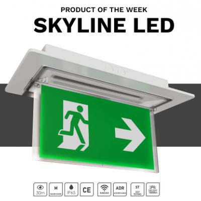Νέα Φωτιστικά Ασφαλείας  SKYLINE από την OLYMPIA ELECTRONICS A.E.