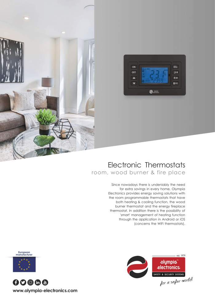 Thermostats New Brochure