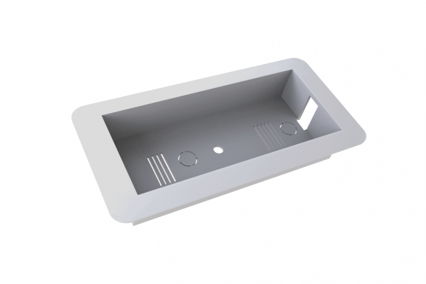 A-1015 - Base for recessed mounting on suspended wall or ceiling