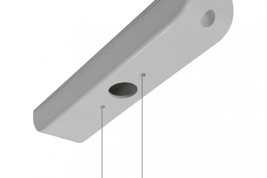 A-1136 - Σετ εξαρτημάτων για κρεμαστή τοποθέτηση σε οροφή με ντίζα 2,5μ