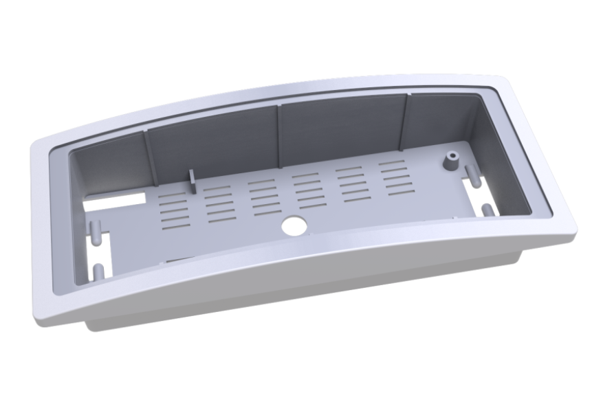 A-3008 - Base for recessed mounting on suspended ceiling(A-3018 suspended ceiling mounting springs are included)