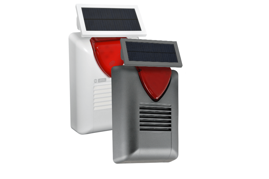 BS-470 - Wireless outdoor solar siren