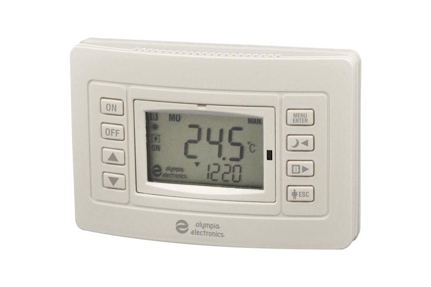 Θερμοστάτης με έξοδο για καυστήρα και boiler