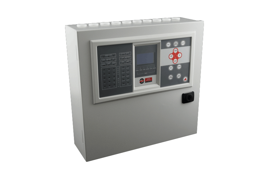 BSR-100X - Analogue Addressable Fire Alarm Panels consists of 3 models(1,2 and 4 loop connections)