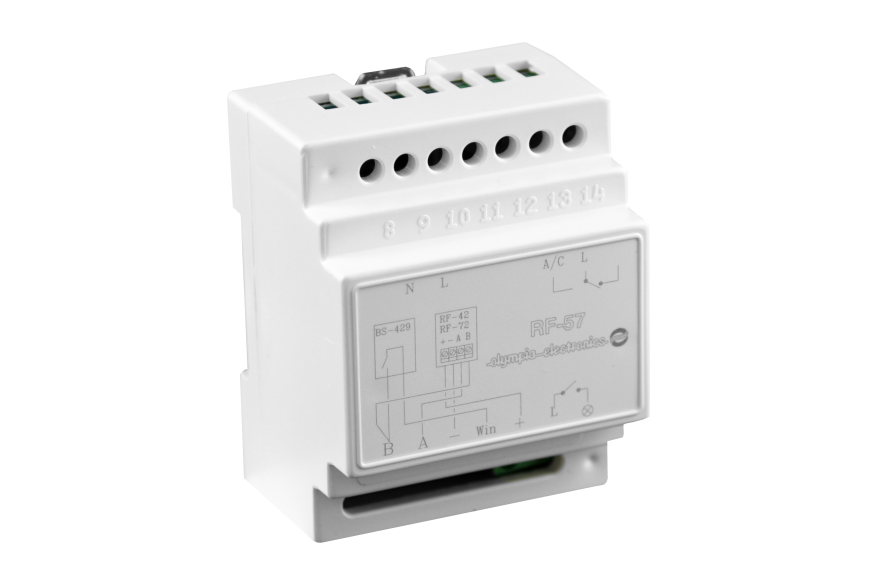 Control unit for lighting and air-conditioning