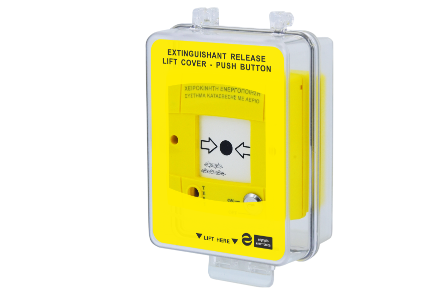 BOX-537 Waterproof case for extinguishing manual call point