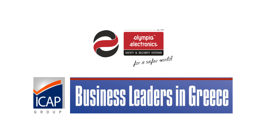 Olympia Electronics S.A. at ICAP's 2018 Business Leader in Greece