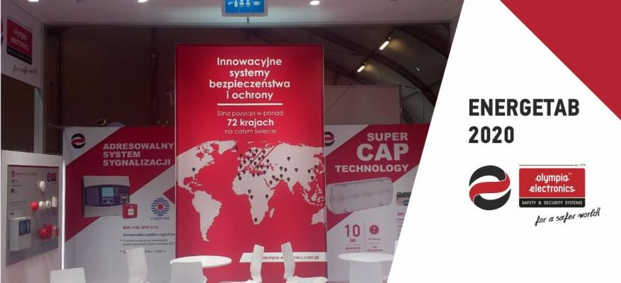 Participation of OLYMPIA ELECTRONICS S.A. at the ENERGETAB 2020 International Exhibition, in Poland.