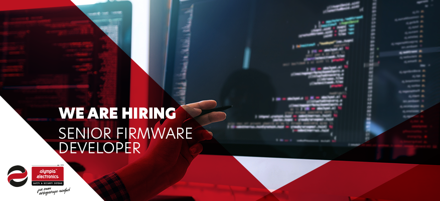 Προσφορά εργασίας : Senior Firmware Developer στην OLYMPIA ELECTRONICS